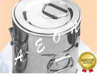 TERMOSI ZA PRENOS HRANE INOX-HACCP STANDARD-OD 5 L DO 40 L