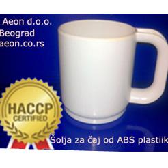 ŠOLJA ABS  ČAJ 300 ML  HACCP STANDARD