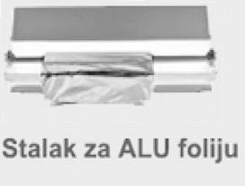 STALAK-DRŽAČ INOX SA SEKAČEM ZA ALU FOLIJU