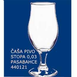ČAŠA ZA PIVO 0,02 I 0,3L STOPA DRAFT PASABAHCE 440121