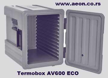 Termobox -AV 600M ECO -za GN posude 1/1- prenos hrane
