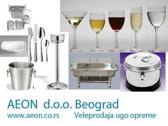 INOX restoranska oprema i nameštaj