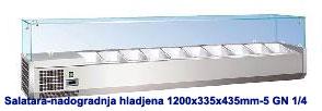 SALATARA-NADOGRADNJA-ZA-5-GN-POSUDA1-4-INOX-1200X335X435MM-INOX