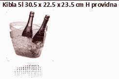 KIBLA PROVIDNA ZA 1-2 BOCE 22,5X23,5 CM-V 5 LTR