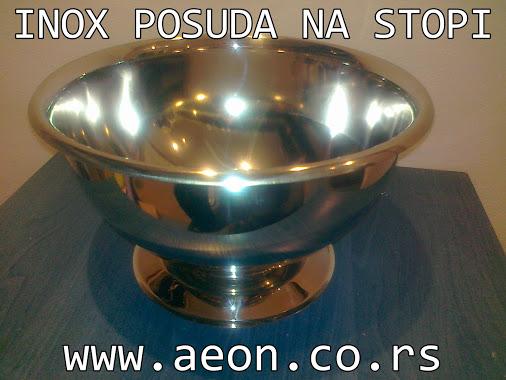 INOX POSUDA NA STOPI 5 L