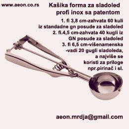 Kasika sladoled forma patent INOX Profi