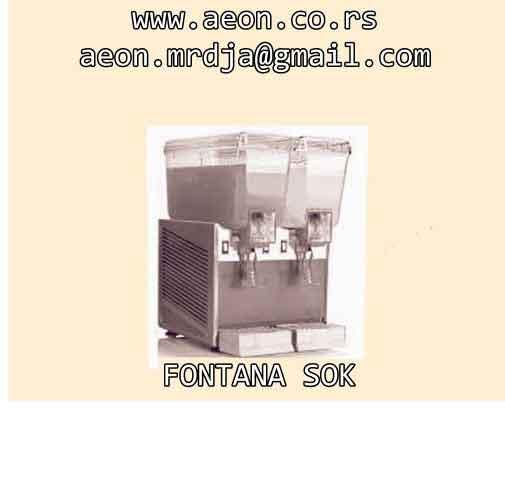 Fontana za rashladjivanje sokova