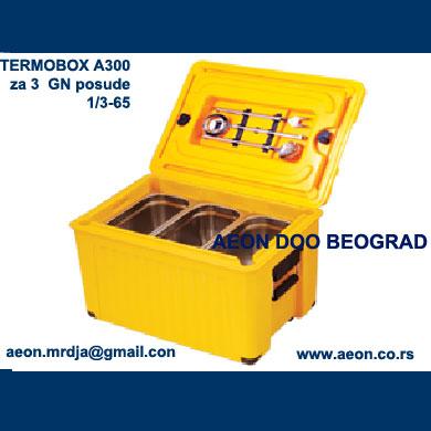 TERMOBOX AV300 3 GN 1/1-65 PRENOS NAMIRNICA