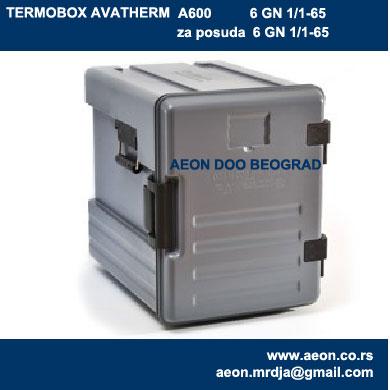 Termobox-A600 posude 6 GN1/1-65-za hranu