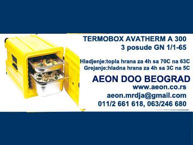 Termobox AV400-prenos hrane-za 3 GN 1/1-65