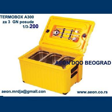 Termobox AV300-prenos hrane-za 1 GN 1/1-200