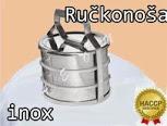 Ručkonoša izolovana 3X 1L INOX za hranu