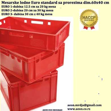 Mesarska lodna EURO HACCP standard