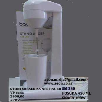 STONI MIKSER CAFFE MASTER BAUER SM 260