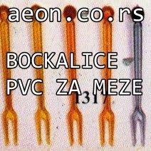 BOCKALICE PVC ZA MEZE