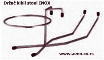Držač kibli za bocu stoni INOX