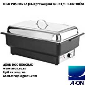 Električni  dish posuda za podgrevanje hrane