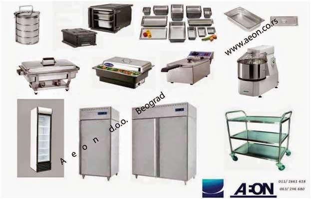 kuhinjska oprema profesionalna za ugostitelje