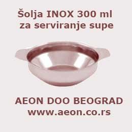 Činija INOX 300 ml za supu