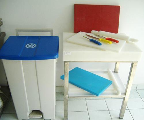 Plastični program za obradu namirnica
