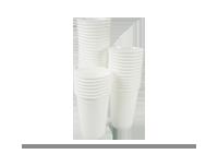 Ambalaza plastična-čaše bele