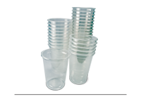 Ambalaza plastična-čaše providne