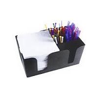 BAR ORGANIZERPosuda za salvetice, slamke , stirrer-a)PVC crna-24X15X11cm
