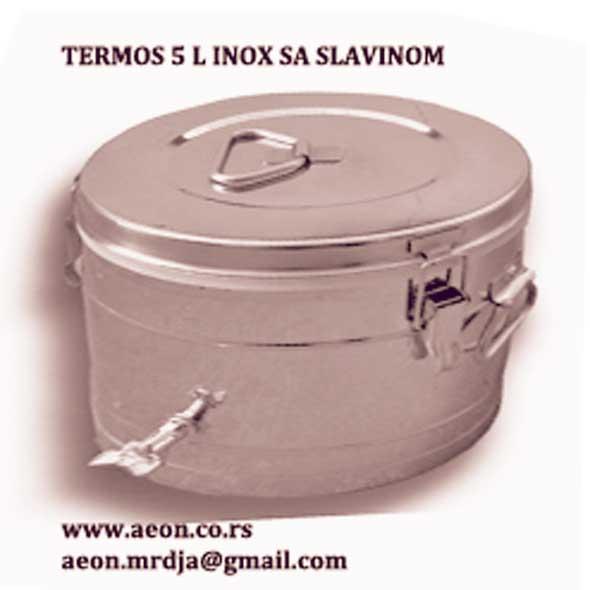 TERMOS 5L SA SLAVINOM INOX